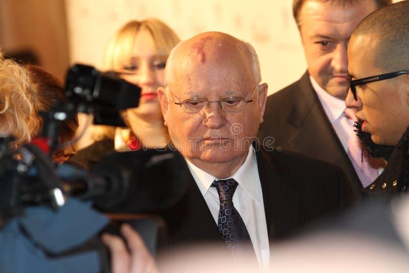 президент mikhail gorbachev стоковые изображения