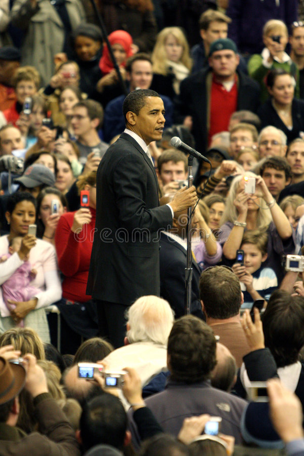 президент obama denver barack стоковое фото rf