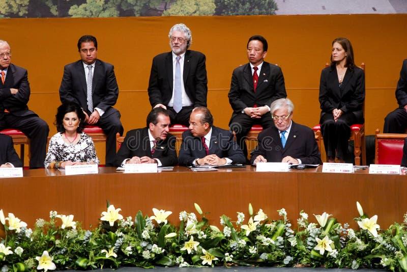 президент s Мексики воевода aguascalientes стоковое фото