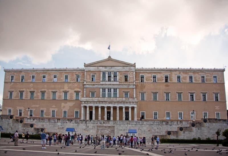 Президентский дворец, Афин, Греция стоковые изображения rf