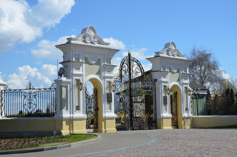 Президентский дворец в Казани стоковое изображение rf