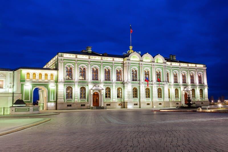 Президентский дворец, Казань Кремль стоковые фотографии rf