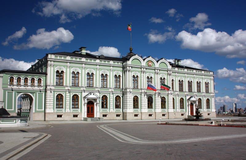 Президентский дворец республики Татарстана в Казани Кремле стоковое фото rf