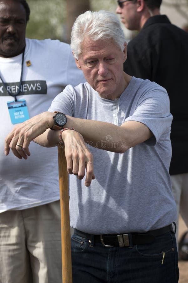 Президент Билл Клинтон Соединенных Штатов стоковое фото