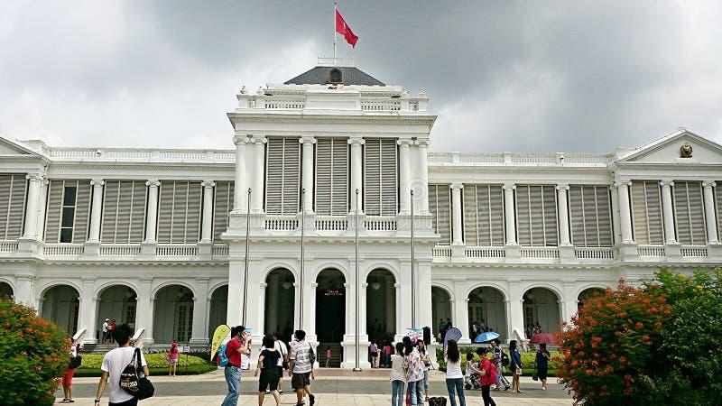 Президент Дом Сингапура стоковая фотография rf