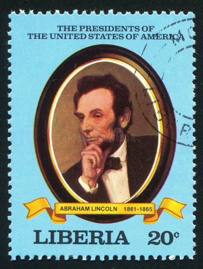 Президент Соединенных Штатовов Авраам Линкольн стоковое изображение