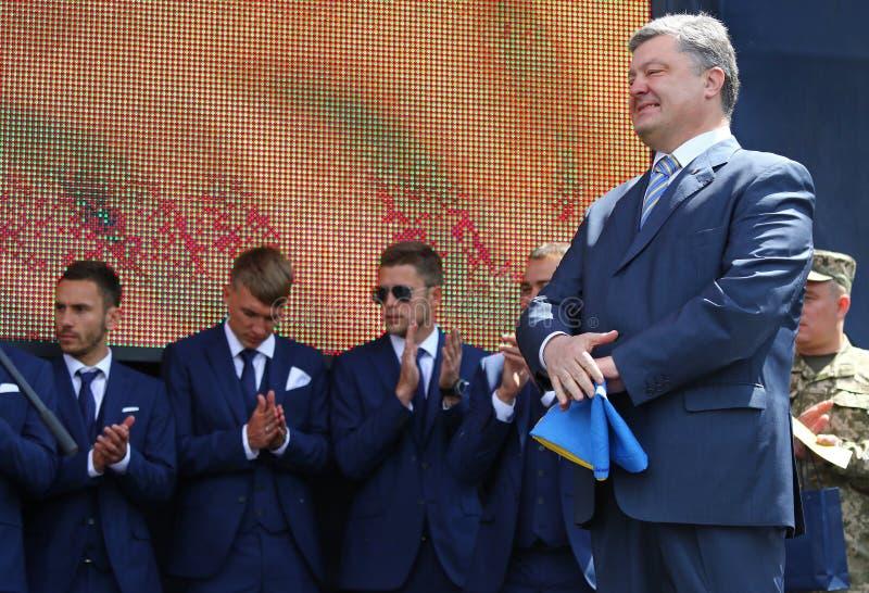 Президент Украины Petro Poroshenko стоковое фото rf