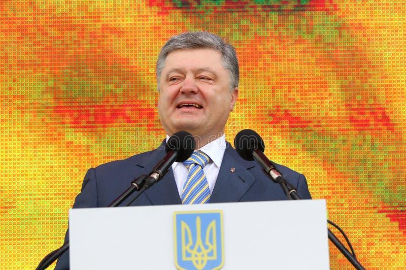 Президент Украины Petro Poroshenko стоковые фотографии rf