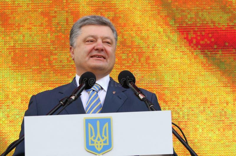 Президент Украины Petro Poroshenko стоковая фотография rf