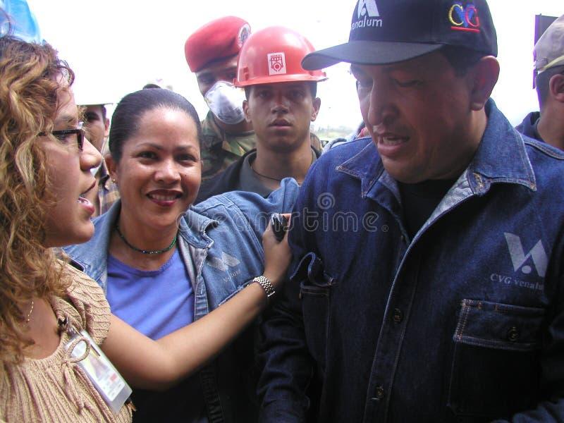 Президент Chavez стоковое изображение rf