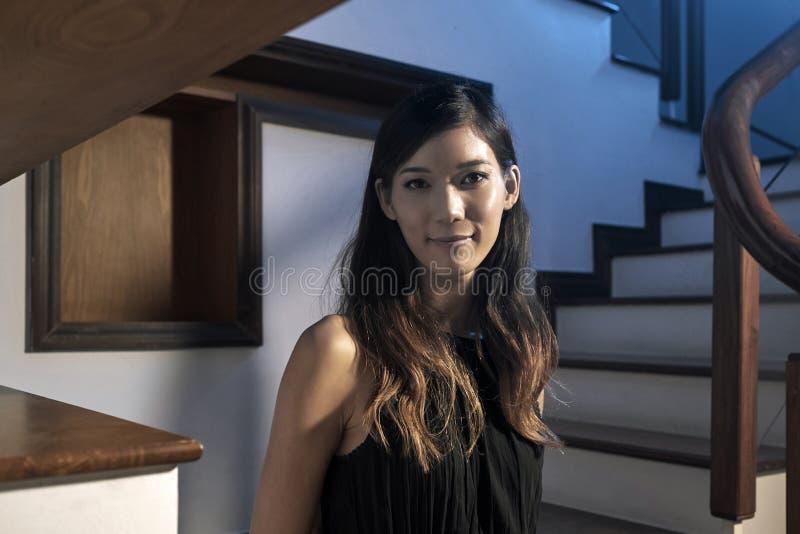 Прекрасная японская женщина стоковая фотография rf