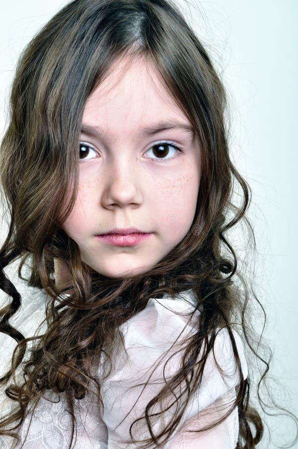 прелестная девушка ребенка немногая стоковое изображение rf