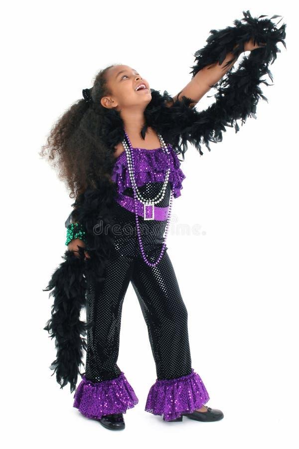 прелестная дива танцульки ребенка стоковая фотография