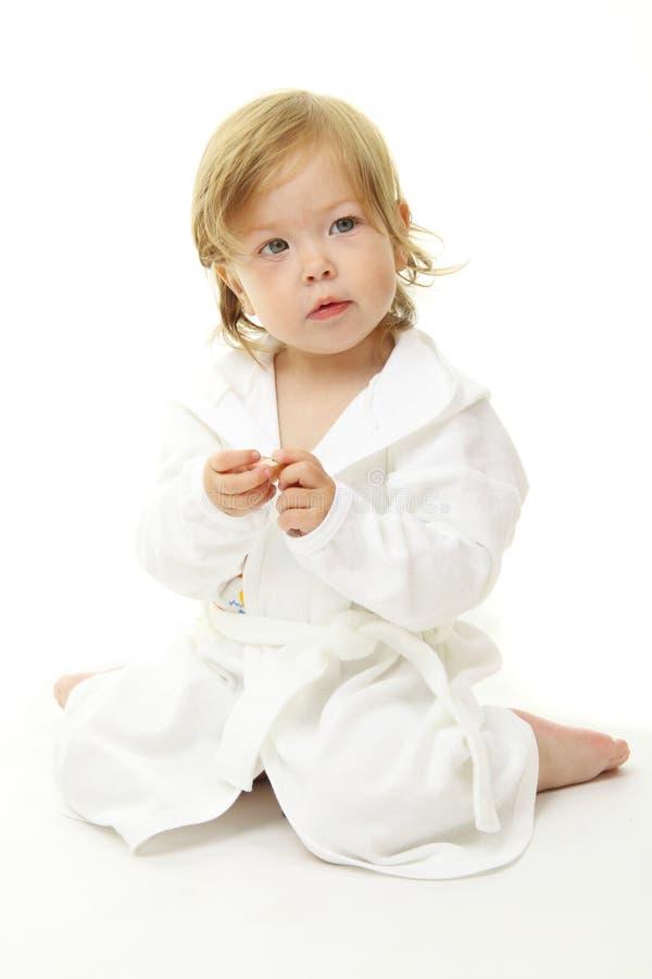 прелестный портрет младенца стоковое изображение