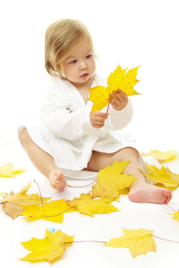 прелестный портрет младенца стоковая фотография rf