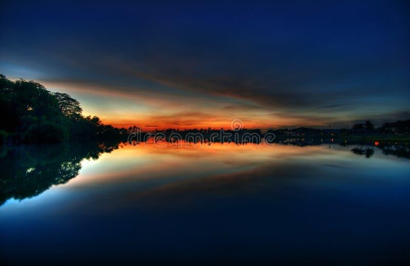 Прелюдия восхода солнца Бесплатные Стоковые Изображения