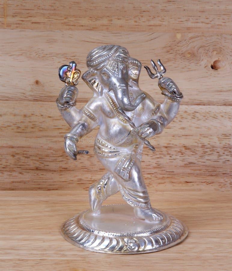 премудрость зажиточности бога ganesha божества индусская стоковая фотография