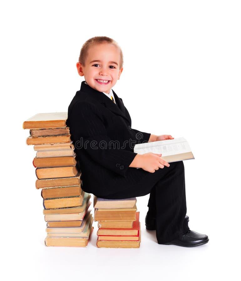 Премудрость в книгах стоковое фото rf