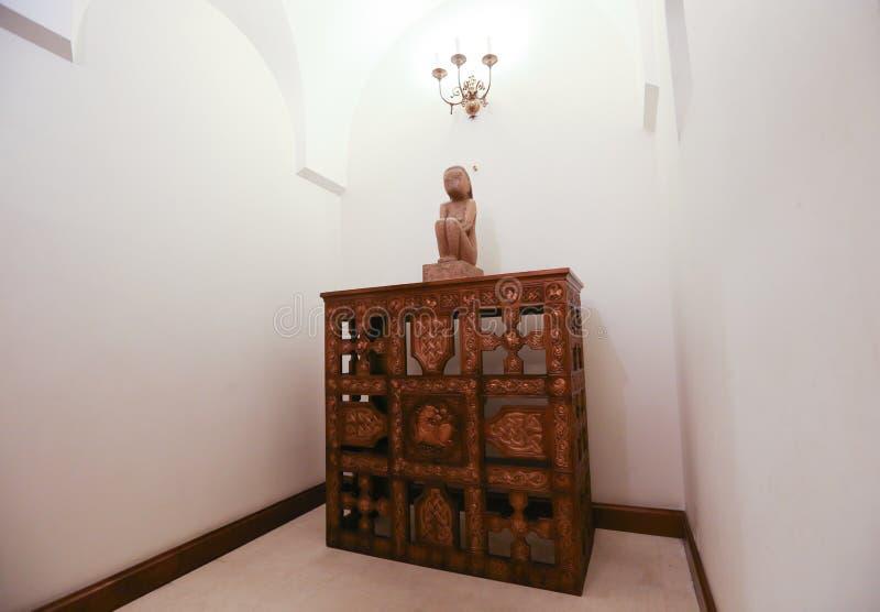 «Премудрость земли» румынским скульптором Constantin Brancusi стоковые фотографии rf