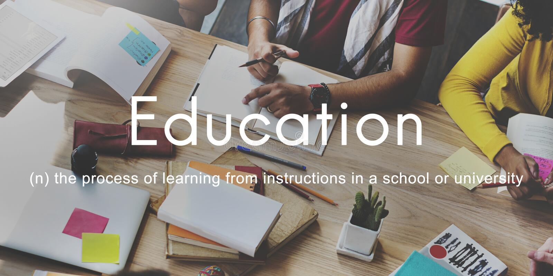 Премудрость знания образования уча изучающ концепцию стоковое изображение