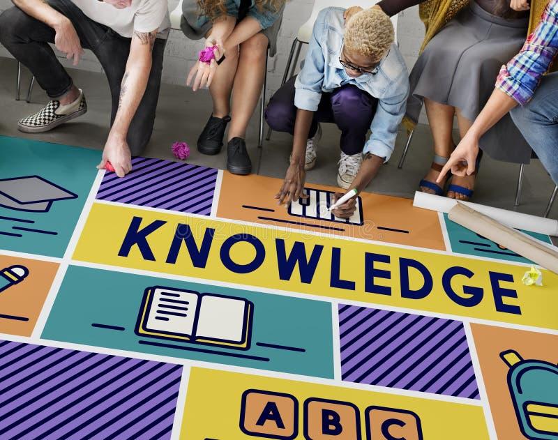 Премудрость образования знания уча концепцию школы стоковое фото rf