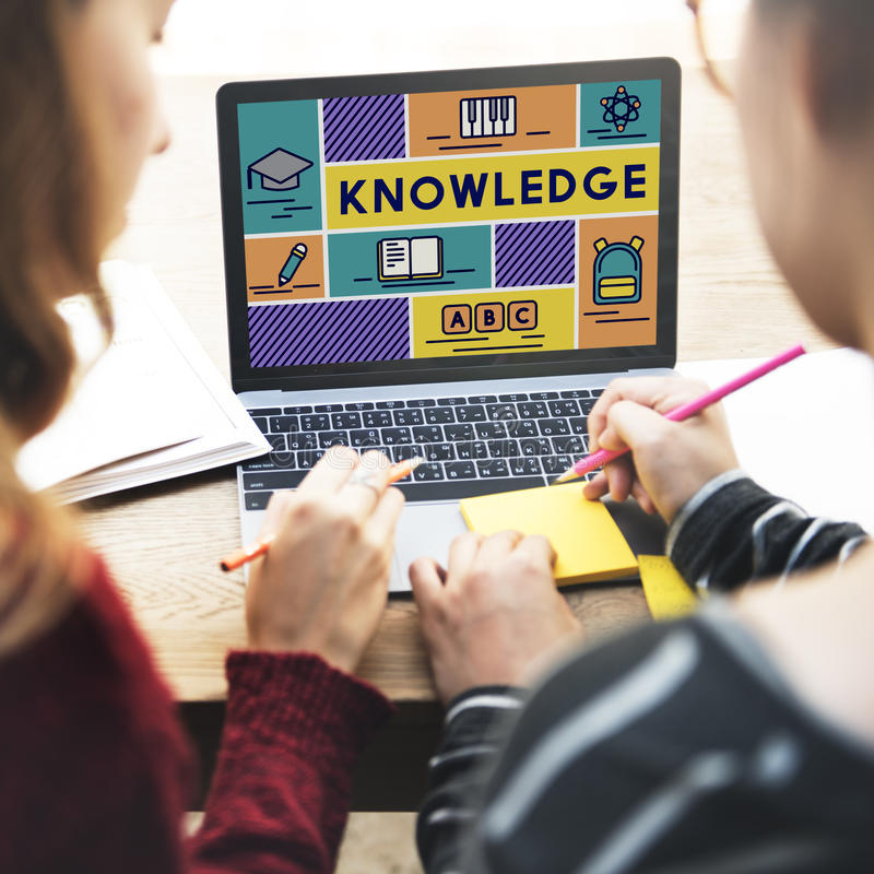 Премудрость образования знания уча концепцию школы стоковая фотография rf