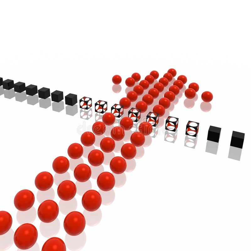Download препона стрелки отжимает команду Иллюстрация штока - иллюстрации насчитывающей bounder, конспектов: 6856429