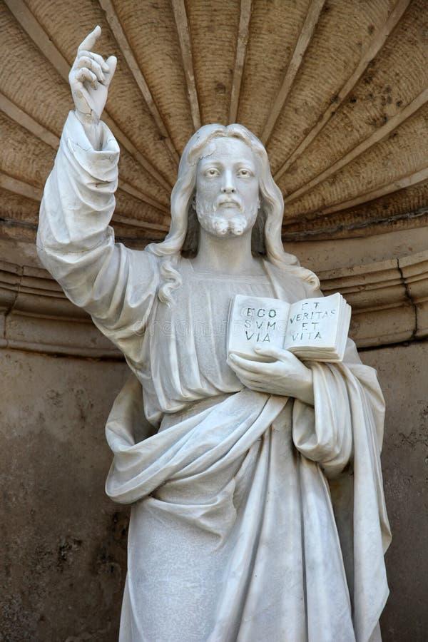 Преподавательство Христоса стоковое изображение rf