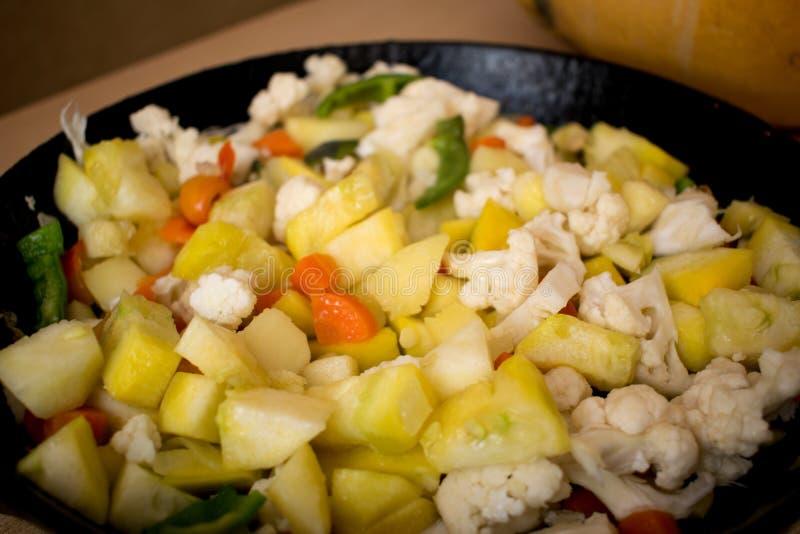 прерванные овощи стоковые фотографии rf
