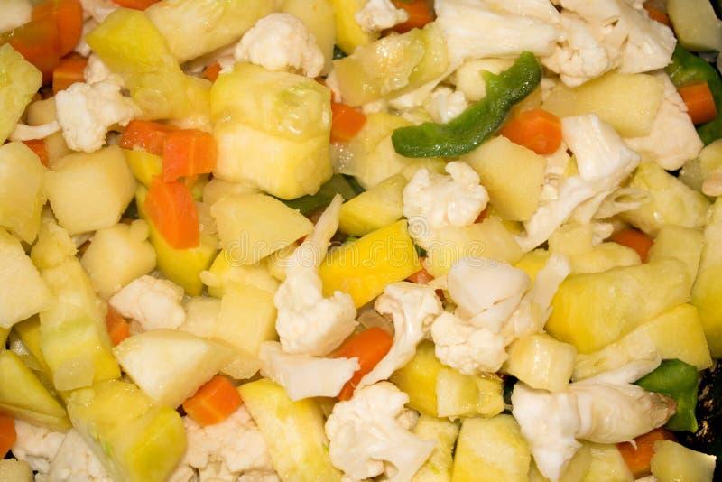 прерванные овощи стоковые изображения