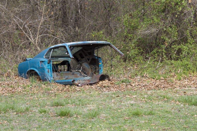 Прерванный Fastback 1969 Ford Мustang стоковые фотографии rf