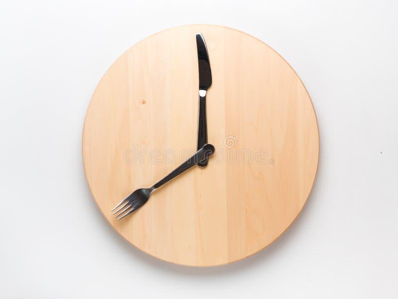 Прерывистая концепция завтрака голодать и скипа стоковые фотографии rf