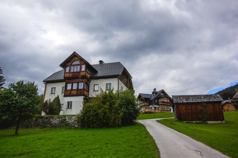 Пресвитерий Altaussee, Австрии стоковое изображение rf