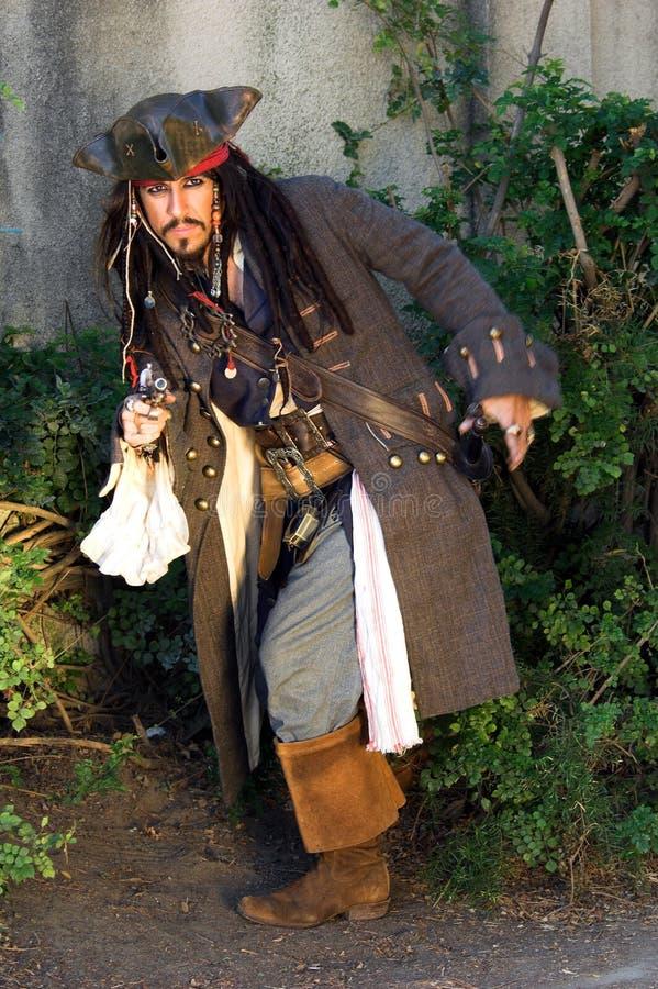 преследовать пирата стоковая фотография rf