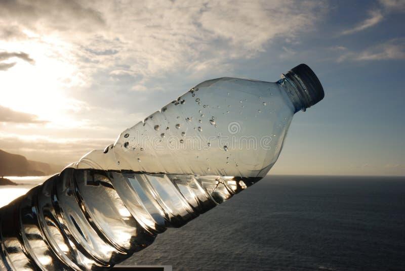 пресноводно встречает соленую воду стоковая фотография rf