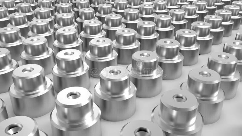 прессформа высокой точности автомобильная подвергая механической обработке стоковое изображение rf