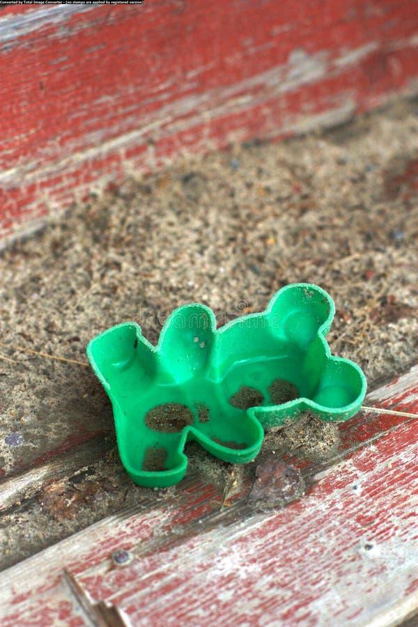 Прессформа торта песка стоковые фотографии rf