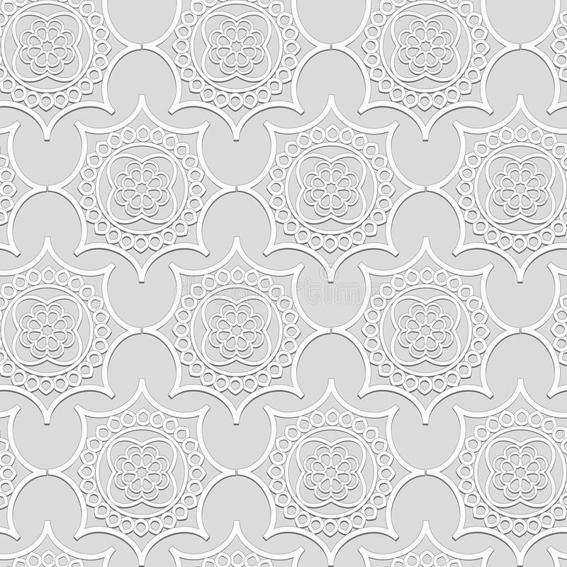Прессформы гипсолита орнаментального тома белые стоковые изображения