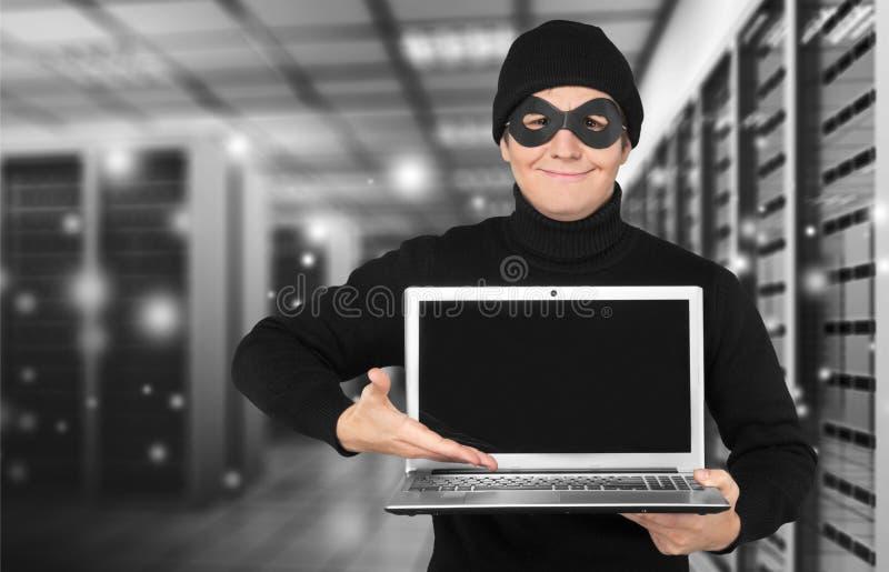 Преступление в компьютерной сфере стоковые изображения rf