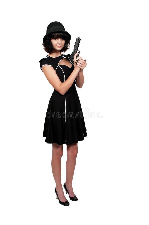 Преступник женщины стоковое фото rf