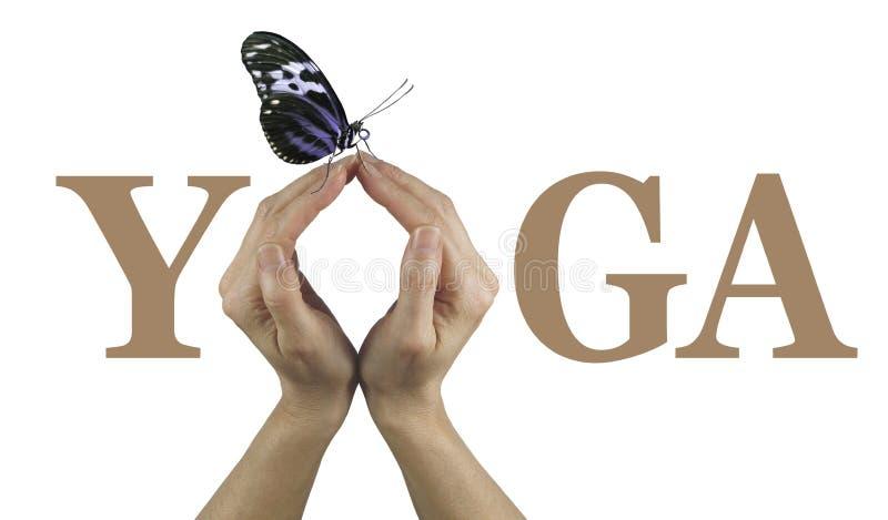 Предлагающ вам йогу стоковое фото