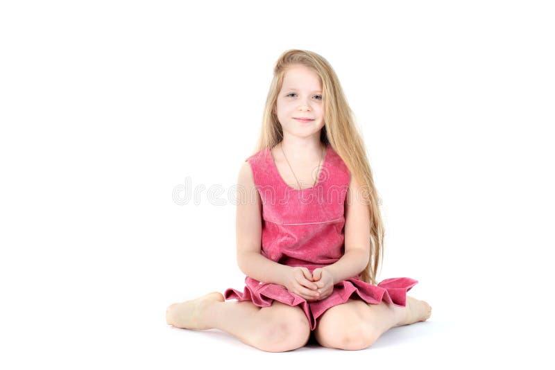 Прелестная девушка 9-ти летняя стоковые фото
