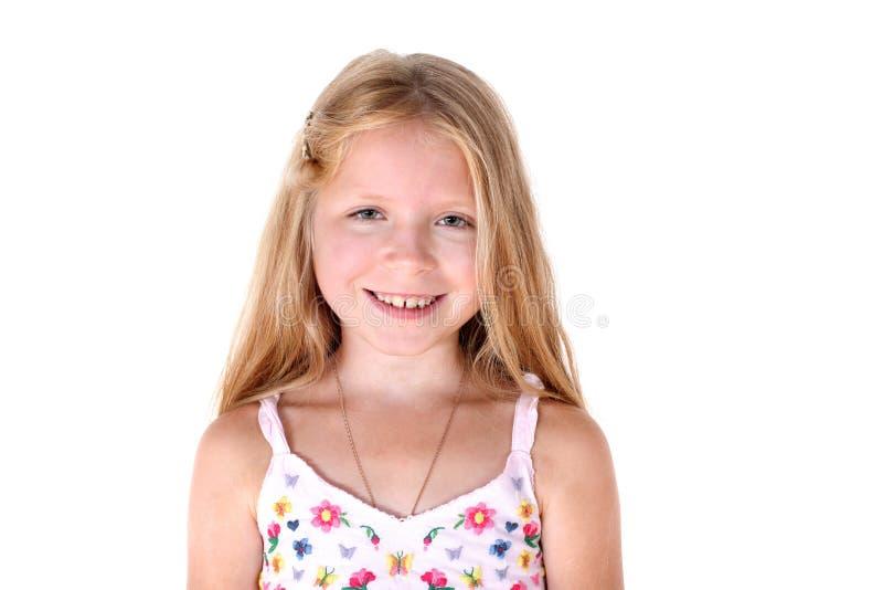 Прелестная маленькая девочка стоковые изображения