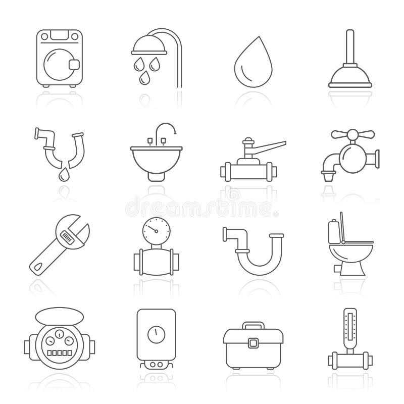 предметы икон паяя инструменты иллюстрация вектора