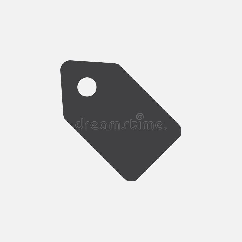Предложите значок талона, логотип вектора, линейную пиктограмму изолированную на белизне, иллюстрации пиксела совершенной бесплатная иллюстрация