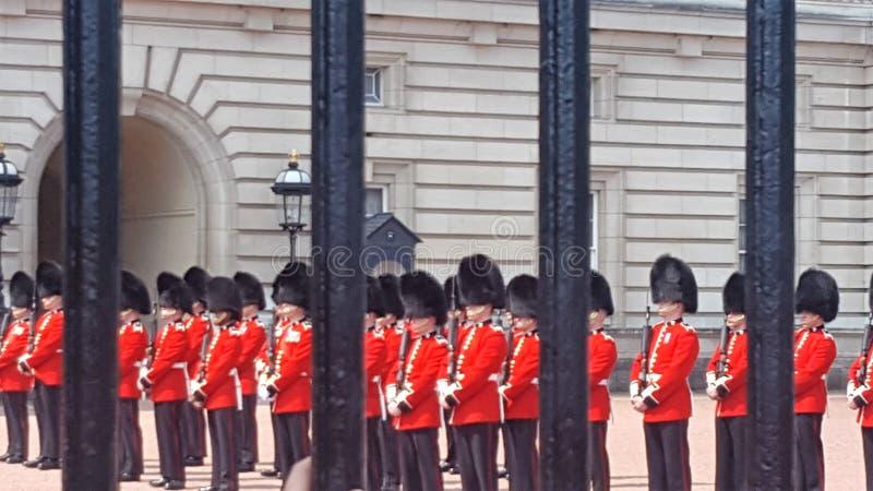 Предохранители Букингемского дворца стоковая фотография