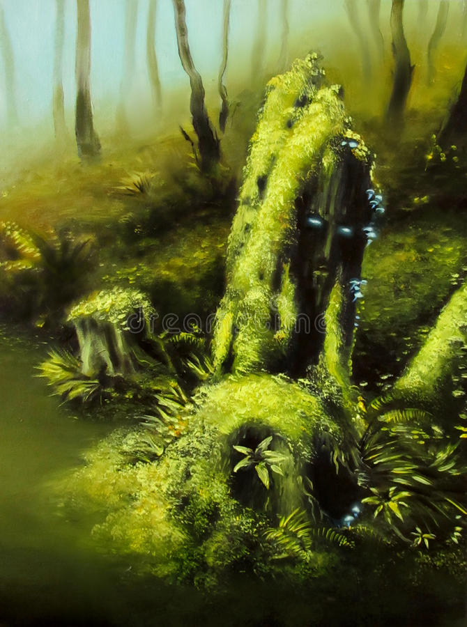 Предохранитель болота иллюстрация вектора