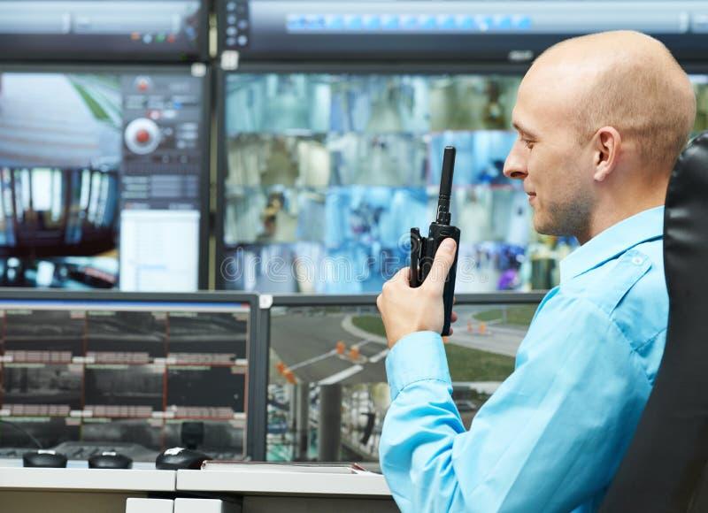 Предохранитель наблюдения видео безопасностью стоковые фотографии rf