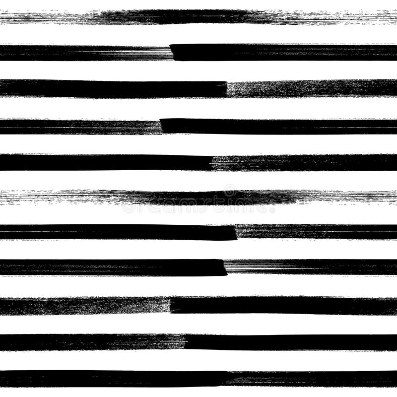 Предпосылка абстрактного brushstroke краски безшовная иллюстрация вектора