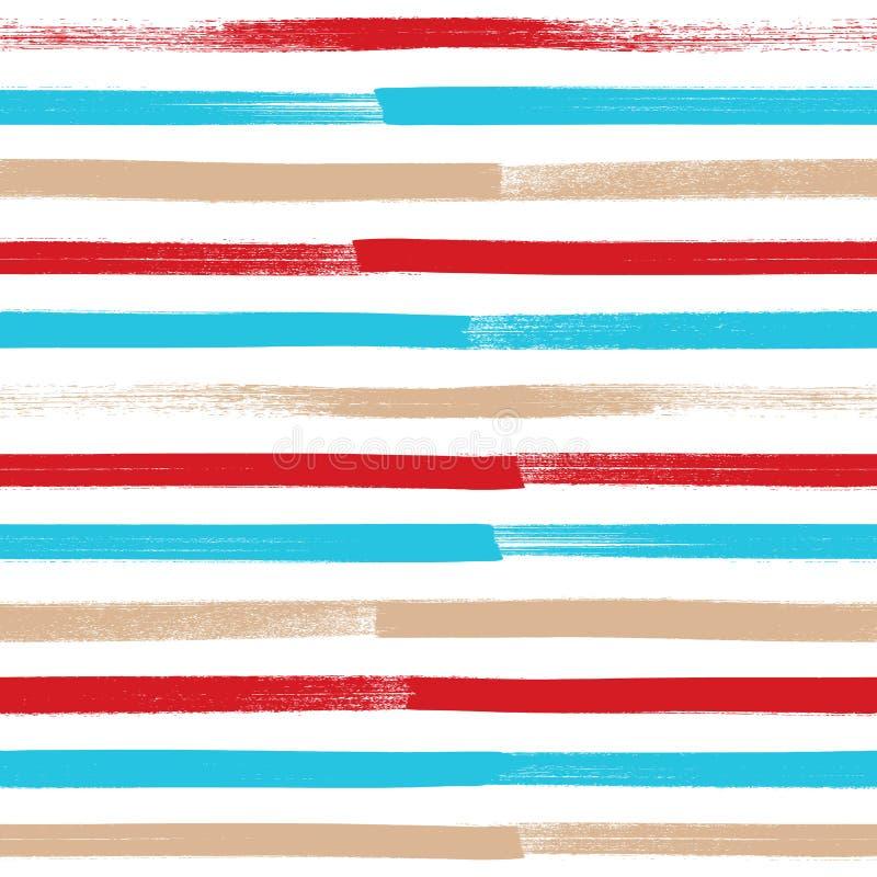 Предпосылка абстрактного brushstroke краски безшовная бесплатная иллюстрация